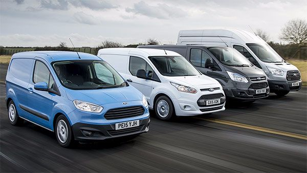 FORD COMMERCIAL VEHICLES SAIL THROUGH 100,000 SALES FOR 2015